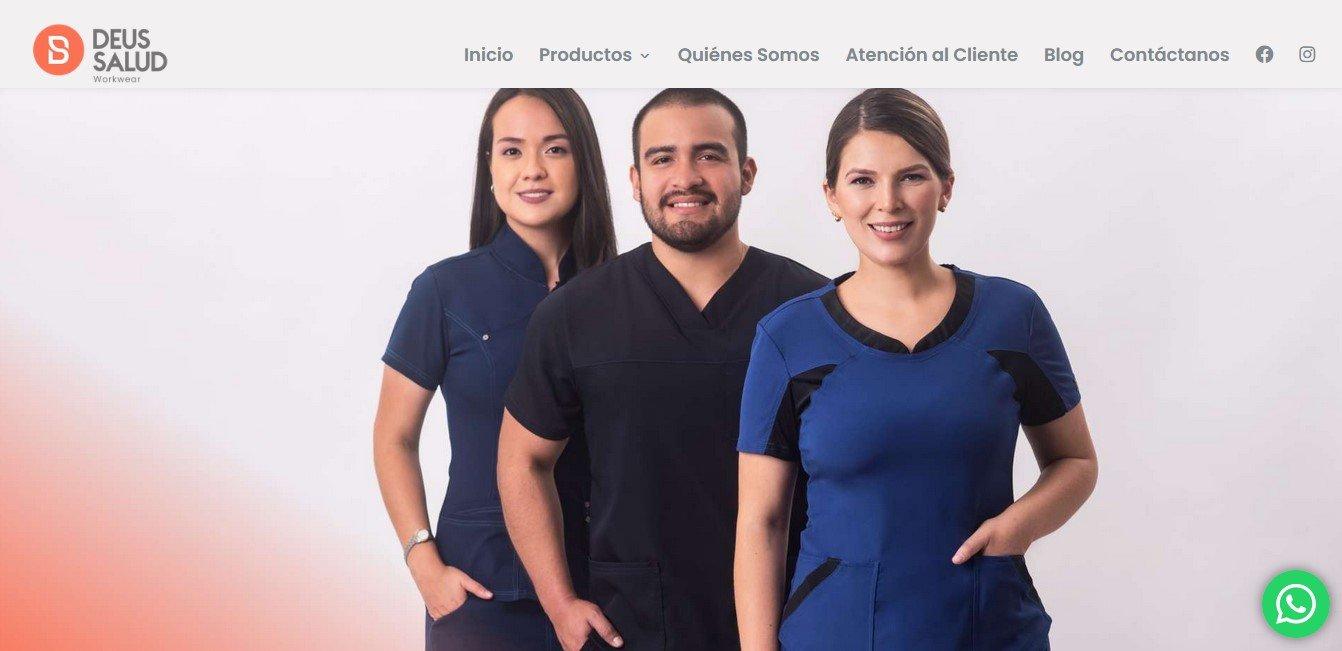Gen - Salud Diseño de páginas web