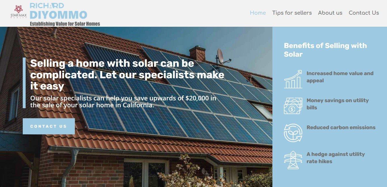 Gen - Diseño de páginas web solar